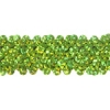 Sequin Stretch 3-row Hologram lime Green